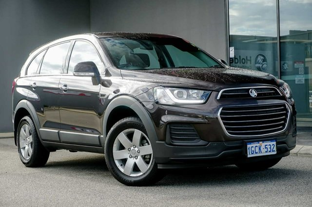 Used Holden Captiva CG MY16 LS 2WD Osborne Park, 2016 Holden Captiva CG MY16 LS 2WD Brown 6 Speed Sports Automatic Wagon