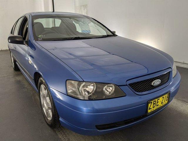 Used Ford Falcon BA XT Maryville, 2003 Ford Falcon BA XT Blue 4 Speed Sports Automatic Sedan