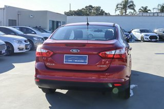 2013 Ford Focus LW MkII Trend PwrShift Red 6 Speed Sports Automatic Dual Clutch Sedan