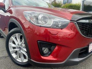 2012 Mazda CX-5 KE1021 Grand Touring SKYACTIV-Drive AWD Red 6 Speed Sports Automatic Wagon.
