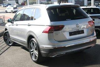 2021 Volkswagen Tiguan 5N MY21 162TSI Highline DSG 4MOTION Allspace Pyrit Silver Metallic 7 Speed.