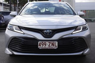 2018 Toyota Camry AXVH71R Ascent Silver Pearl 6 Speed Constant Variable Sedan Hybrid.