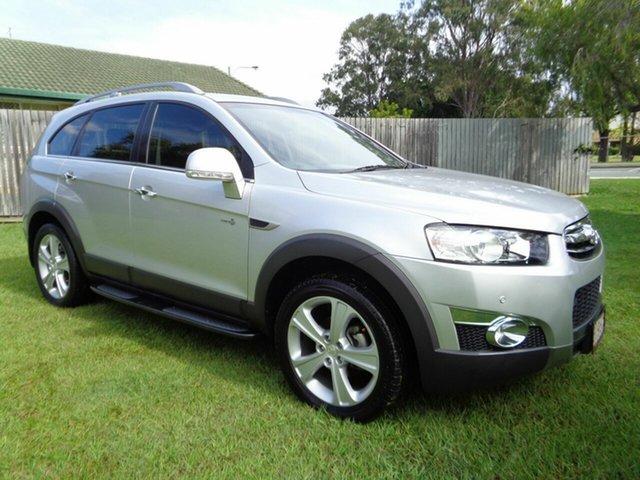 Used Holden Captiva CG MY13 7 AWD LX Kippa-Ring, 2013 Holden Captiva CG MY13 7 AWD LX Silver 6 Speed Sports Automatic Wagon