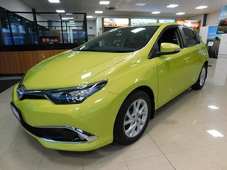 2015 Toyota Corolla ZRE182R SX S-CVT Yellow 7 Speed Constant Variable Hatchback.