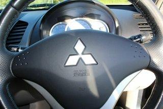 2007 Mitsubishi Triton ML MY07 GLX-R Double Cab Grey 5 Speed Manual Utility