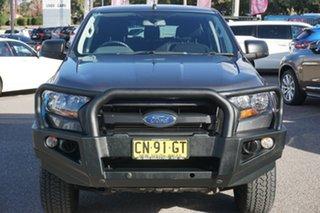 2017 Ford Ranger PX MkII XL Hi-Rider Grey 6 Speed Sports Automatic Utility.