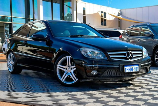 Used Mercedes-Benz CLC-Class CL203 CLC200 Kompressor Attadale, 2010 Mercedes-Benz CLC-Class CL203 CLC200 Kompressor Black 5 Speed Automatic Coupe