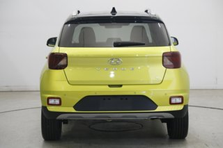 2020 Hyundai Venue QX.2 MY20 Elite Acid Yellow 6 Speed Automatic Wagon