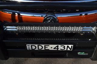 2015 Holden Colorado RG MY16 Z71 Crew Cab Orange 6 Speed Sports Automatic Utility