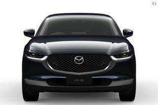 2021 Mazda CX-30 DM2WLA G25 SKYACTIV-Drive Astina Blue 6 Speed Sports Automatic Wagon.