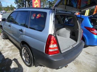 2004 Subaru Forester 79V MY05 X AWD Silver 5 Speed Manual Wagon