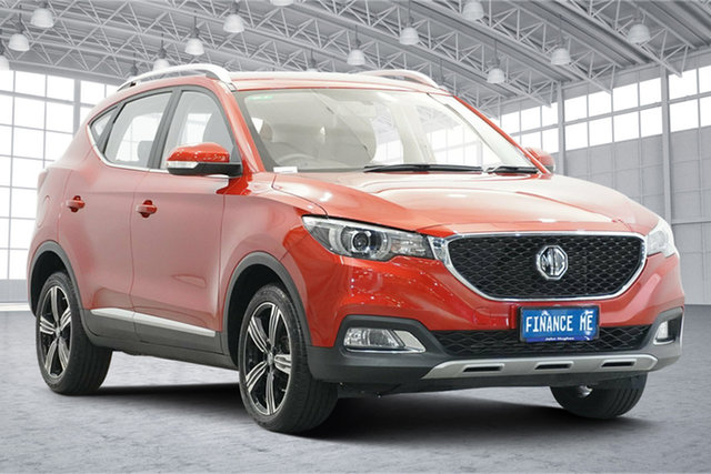 Used MG ZS AZS1 MY19 Excite Plus 2WD Victoria Park, 2019 MG ZS AZS1 MY19 Excite Plus 2WD Diamond Red 6 Speed Automatic Wagon