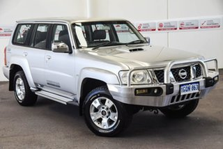 2013 Nissan Patrol GU Series 9 ST (4x4) Silver 4 Speed Automatic Wagon.