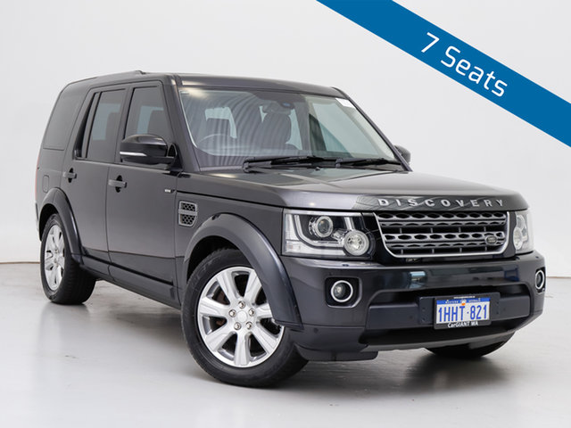 Used Land Rover Discovery MY14 3.0 SDV6 SE, 2014 Land Rover Discovery MY14 3.0 SDV6 SE Grey 8 Speed Automatic Wagon