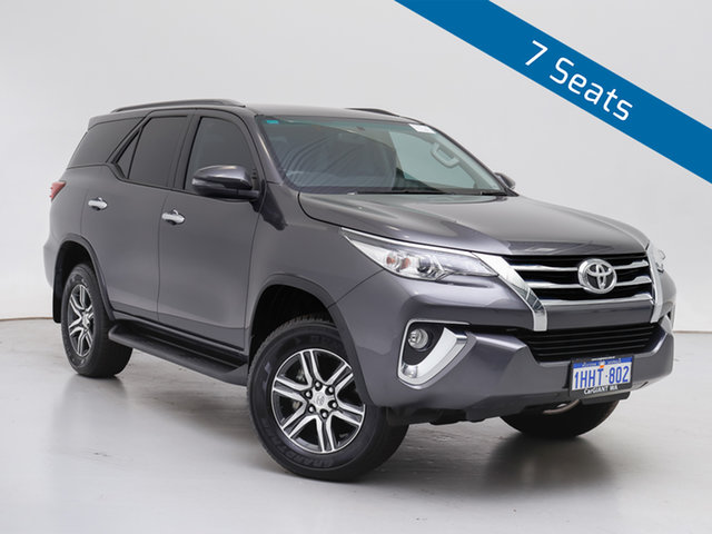 Used Toyota Fortuner GUN156R GXL, 2019 Toyota Fortuner GUN156R GXL Grey 6 Speed Electronic Automatic Wagon
