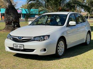 2010 Subaru Impreza G3 MY10 R AWD White 4 Speed Sports Automatic Hatchback.