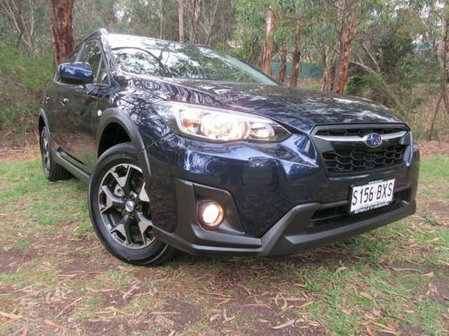 Used Subaru XV G5X MY19 2.0i Lineartronic AWD Reynella, 2018 Subaru XV G5X MY19 2.0i Lineartronic AWD Dark Blue Pearl/clot 7 Speed Constant Variable Wagon