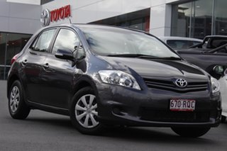 2011 Toyota Corolla ZRE152R MY11 Ascent Graphite 6 Speed Manual Hatchback.