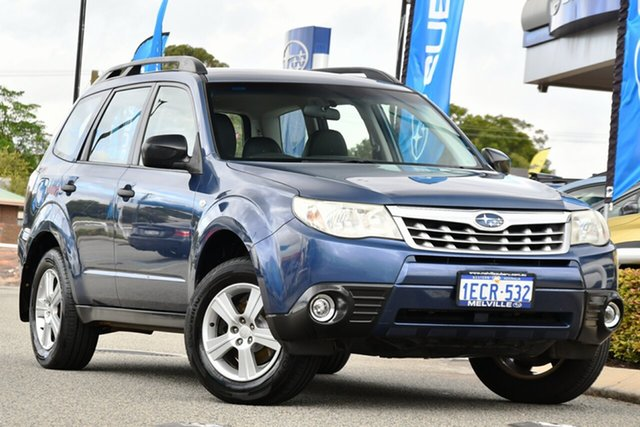 Used Subaru Forester S3 MY12 X AWD Melville, 2012 Subaru Forester S3 MY12 X AWD Marine Blue 4 Speed Sports Automatic Wagon
