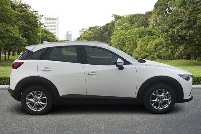 Demo Mazda CX-3 DK2W7A Maxx SKYACTIV-Drive FWD Sport Paradise, 2021 Mazda CX-3 DK2W7A Maxx SKYACTIV-Drive FWD Sport White Pearl 6 Speed Sports Automatic Wagon