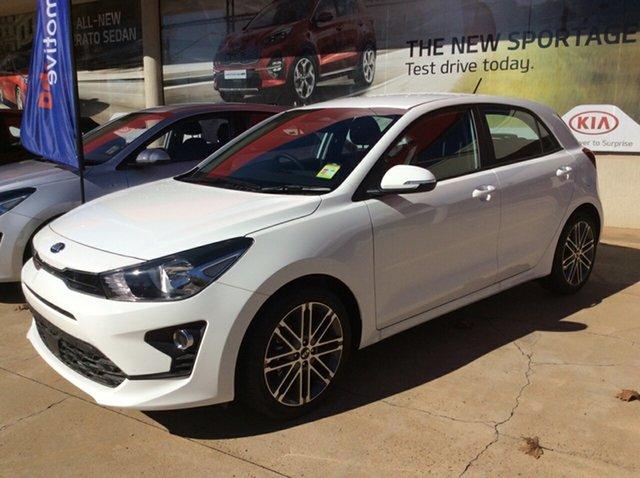 New Kia Rio YB MY21 Sport Toowoomba, 2021 Kia Rio YB MY21 Sport Clear White 6 Speed Automatic Hatchback