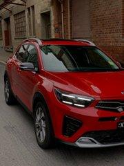 2020 Kia Stonic YB MY21 GT-Line DCT FWD Signal Red 7 Speed Sports Automatic Dual Clutch Wagon.