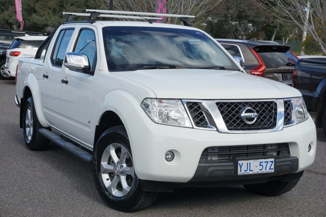 Used Nissan Navara D40 S5 MY12 ST-X 550 Phillip, 2012 Nissan Navara D40 S5 MY12 ST-X 550 White 7 Speed Sports Automatic Utility