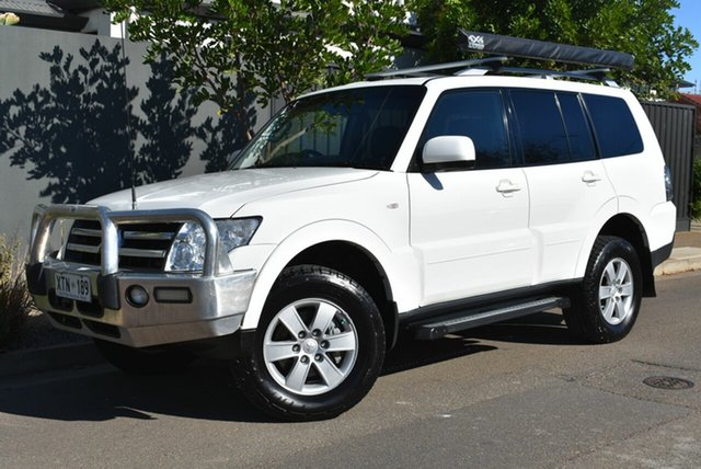 Used Mitsubishi Pajero NS Platinum Edition Brighton, 2008 Mitsubishi Pajero NS Platinum Edition White 5 Speed Manual Wagon
