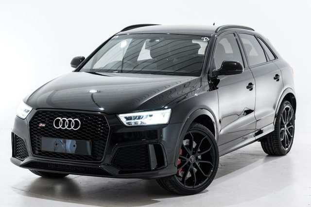Used Audi RS Q3 8U MY17 performance S Tronic Quattro Berwick, 2017 Audi RS Q3 8U MY17 performance S Tronic Quattro Black 7 Speed Sports Automatic Dual Clutch