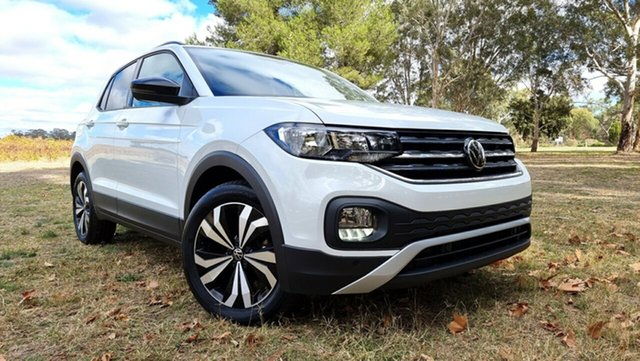 New Volkswagen T-Cross C1 MY21 85TSI DSG FWD Life Tanunda, 2021 Volkswagen T-Cross C1 MY21 85TSI DSG FWD Life Pure White 7 Speed Sports Automatic Dual Clutch