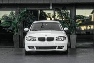 2009 BMW 125i E82 125i White 6 Speed Automatic Coupe.
