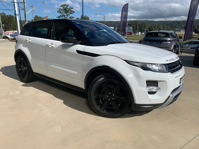 Used Land Rover Range Rover Evoque L538 MY14 Dynamic West Gosford, 2014 Land Rover Range Rover Evoque L538 MY14 Dynamic Fuji White 9 Speed Sports Automatic Wagon