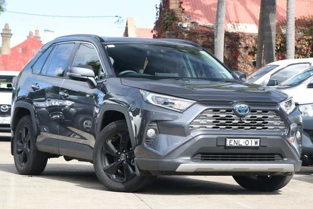 Pre-Owned Toyota RAV4 Axah54R Cruiser eFour Mosman, 2020 Toyota RAV4 Axah54R Cruiser eFour Graphite 6 Speed Constant Variable Wagon
