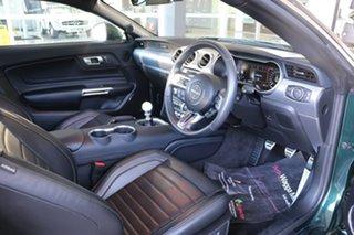 2018 Ford Mustang FN 2019MY BULLITT Green 6 Speed Manual Fastback