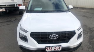 2019 Hyundai Venue QX MY20 Active Ceramic White 6 Speed Manual Wagon.