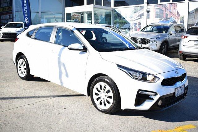 Used Kia Cerato BD MY20 S Ferntree Gully, 2020 Kia Cerato BD MY20 S White 6 Speed Sports Automatic Hatchback