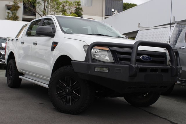 Used Ford Ranger PX XL Mount Gravatt, 2011 Ford Ranger PX XL White 6 Speed Manual Utility