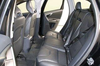 2015 Volvo XC60 DZ MY15 D5 Luxury Black 6 Speed Automatic Geartronic Wagon