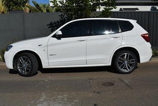 2016 BMW X3 F25 LCI xDrive20d Steptronic White 8 Speed Automatic Wagon.