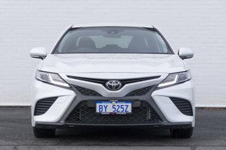 2019 Toyota Camry ASV70R Ascent Sport White 6 Speed Sports Automatic Sedan.