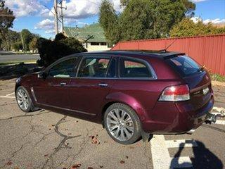 2013 Holden Calais VF MY14 V Sportwagon Maroon 6 Speed Sports Automatic Wagon