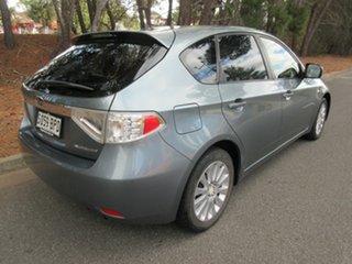 2008 Subaru Impreza G3 MY08 RX AWD Green 4 Speed Sports Automatic Hatchback.