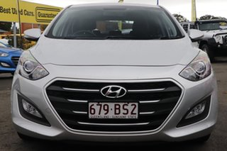 2015 Hyundai i30 GD4 Series II MY16 Active X Sleek Silver 6 Speed Manual Hatchback.
