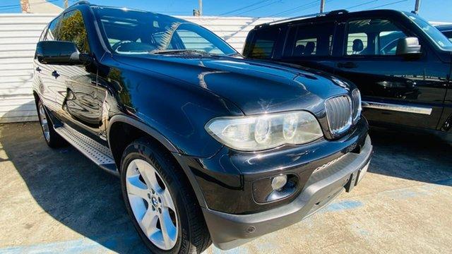 Used BMW X5 E53 MY05 d Steptronic Maidstone, 2004 BMW X5 E53 MY05 d Steptronic Black 6 Speed Sports Automatic Wagon