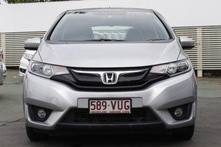 2015 Honda Jazz GF MY15 VTi-L Silver 1 Speed Constant Variable Hatchback.