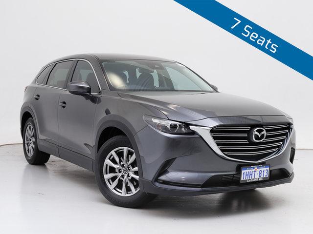 Used Mazda CX-9 MY18 Touring (AWD), 2017 Mazda CX-9 MY18 Touring (AWD) Grey 6 Speed Automatic Wagon