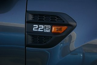 2017 Ford Ranger PX MkII XL Hi-Rider Grey 6 Speed Sports Automatic Utility