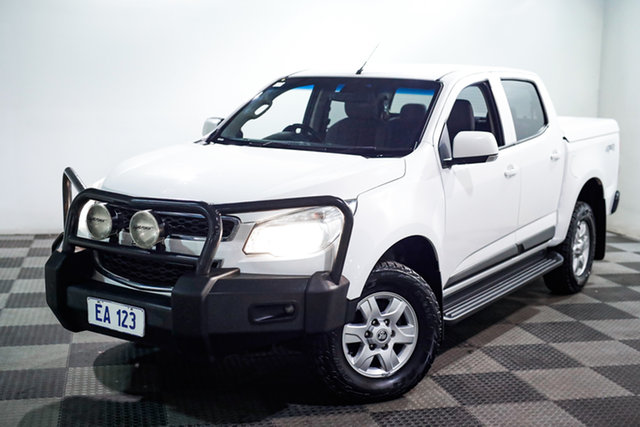 Used Holden Colorado RG MY16 LT Crew Cab Edgewater, 2015 Holden Colorado RG MY16 LT Crew Cab White 6 Speed Sports Automatic Utility