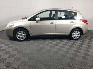 2011 Nissan Tiida C11 S3 ST Gold 4 Speed Automatic Hatchback