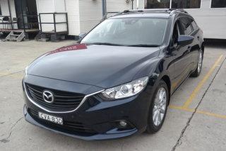 2014 Mazda 6 GJ1031 Touring SKYACTIV-Drive Blue 6 Speed Sports Automatic Wagon.